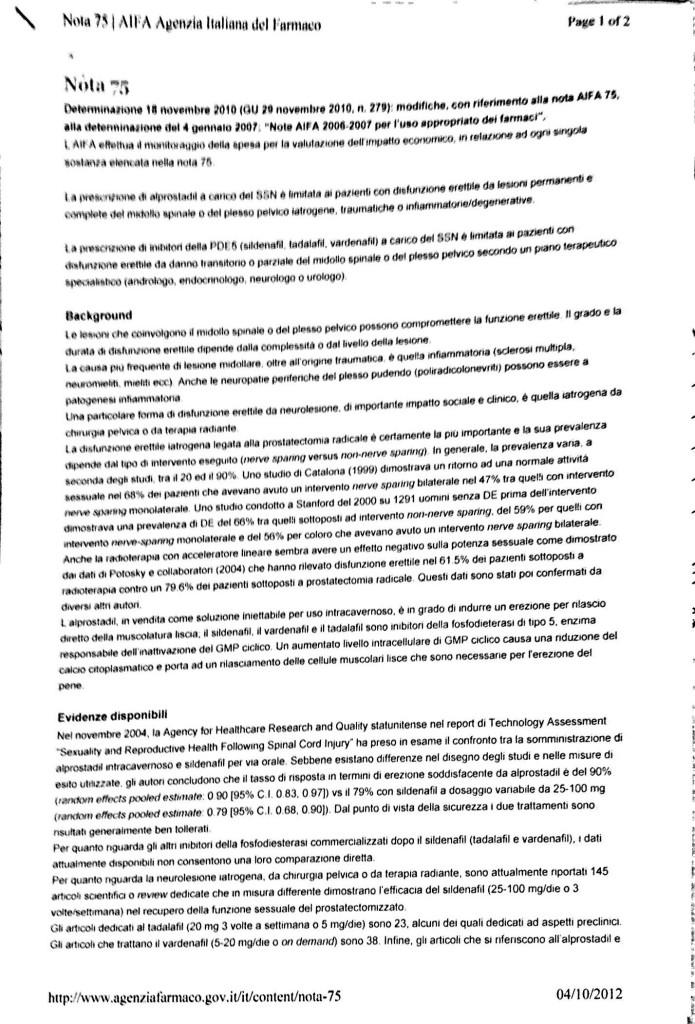Nota AIFA 75